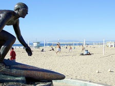 Tim Kelly Lifeguard Memorial in Hermosa Beach