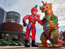 """Kaiju vs Heroes"" at the Japanese American National Museum"