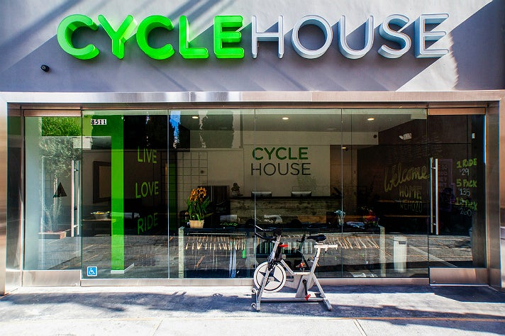 Cycle House on Melrose Avenue