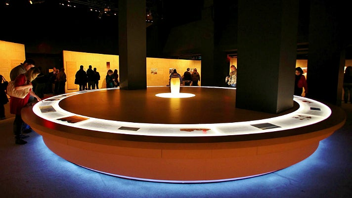 """Dead Sea Scrolls: The Exhibition"" centerpiece"