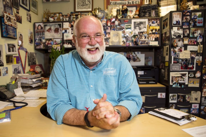 Homeboy Industries founder, Father Greg Boyle is the 2016 James Beard Humanitarian of the Year