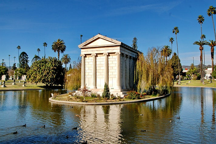 Clark Family Mausoleum at Hollywood Forever