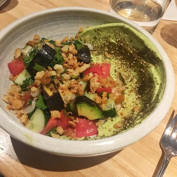 Fattoush salad at The Bellwether
