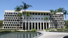 """Hall of Administration at Ambassador College, from """"Fast & Furious"""""""