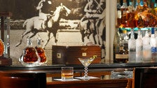 The Polo Lounge at the Beverly Hills Hotel