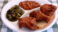 Gus's World Famous Fried Chicken on Crenshaw Boulevard