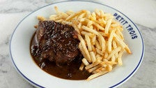 Steak Frites at Petit Trois