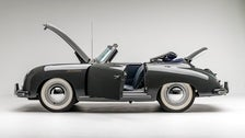 1955 Porsche Continental Cabriolet at Petersen Automotive Museum