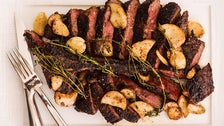 Porterhouse for two at CUT