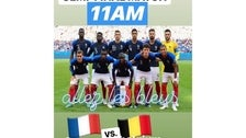 World Cup Semi Final 2018 at Petit Trois Le Valley