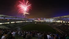 Fireworks at StubHub Center