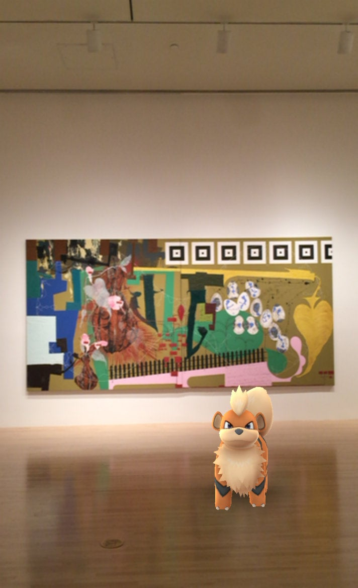 Pokémon Go at MOCA