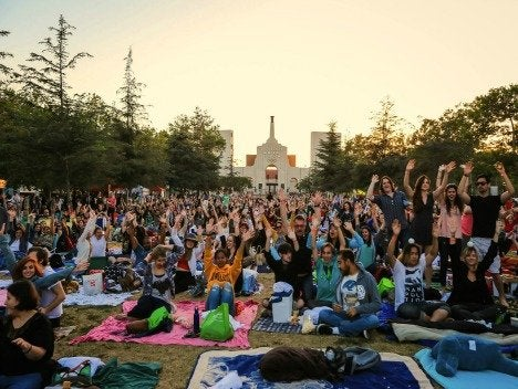 Street Food Cinema at Exposition Park