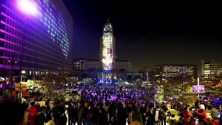 New Year's Eve Los Angeles at Grand Park