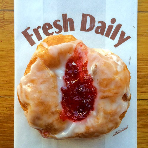 Peanut butter and jelly doughnut at Stan's Donuts