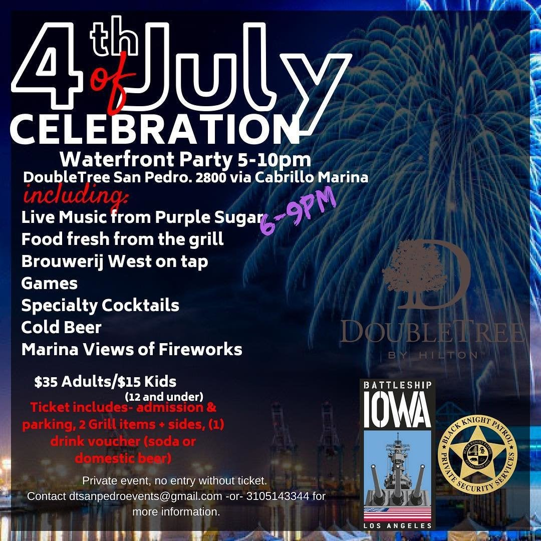 July 4th Celebration at the LA Waterfront